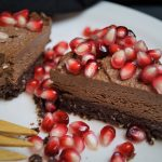 Raw Chocolate Mousse Cheesecake