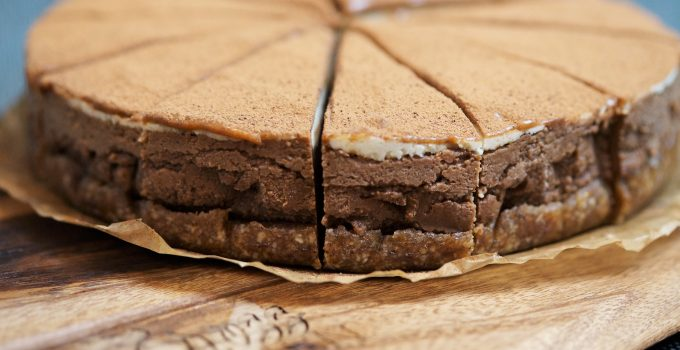 Raw Paleo Tiramisu Cheesecake