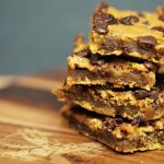 Protein- packed Peanutbutter- Chickpea Blondies